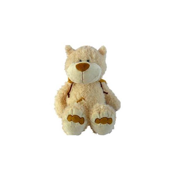 фото Мягкая игрушка интерактивная с чистоговорками Kribly Boo Мишутка медовый