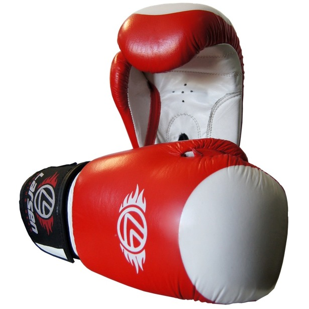 фото Перчатки боксерские Larsen PS-789 Supreme. Вес в унциях: 8