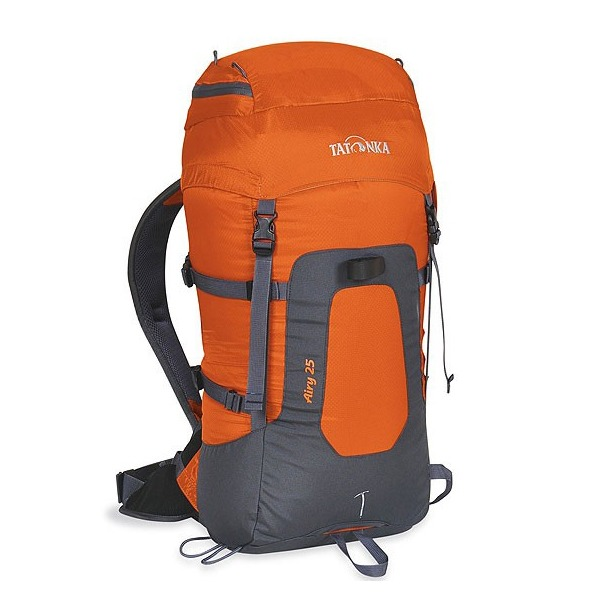 фото Рюкзак туристический Tatonka Airy 20. Цвет: серый, оранжевый