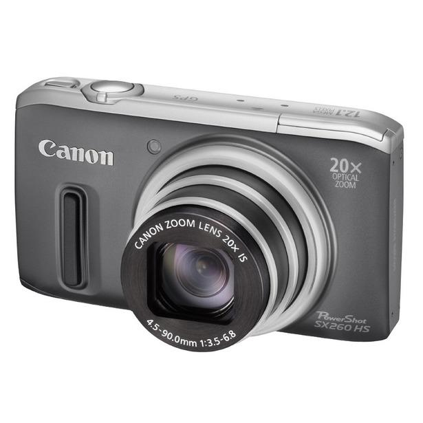 фото Фотокамера цифровая Canon PowerShot SX260 HS. Цвет: серый