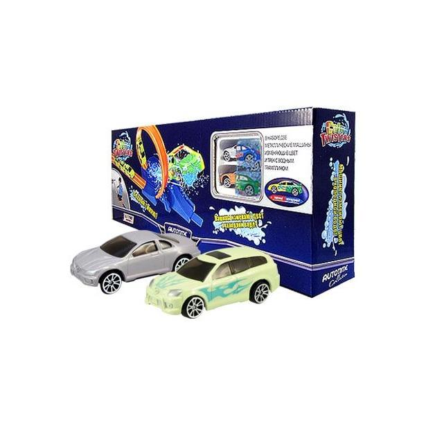 фото Модель автомобиля AUTOTIME Color Twisters Water Splash-2. С треком