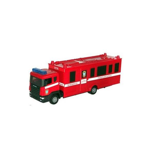 фото Модель автомобиля AUTOTIME Scania Command Unit. Пожарная