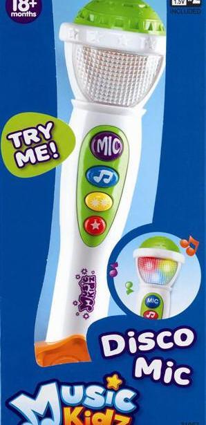 фото Музыкальная игрушка Keenway Disco микрофон