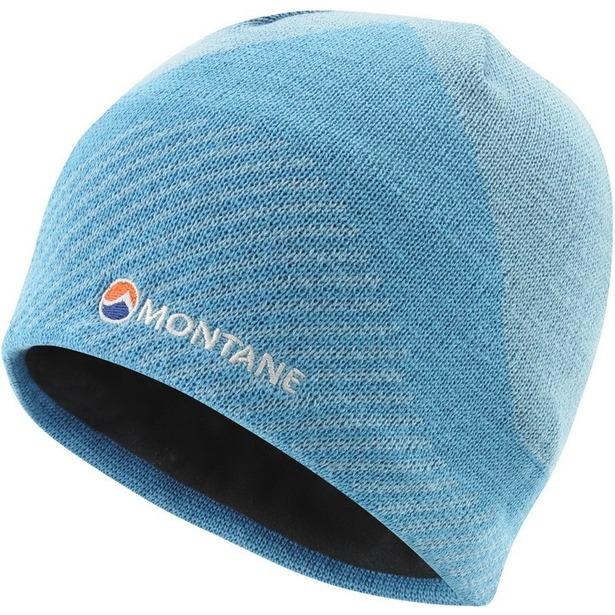 фото Шапка Montane Montane Logo Beanie. Цвет: лазурный