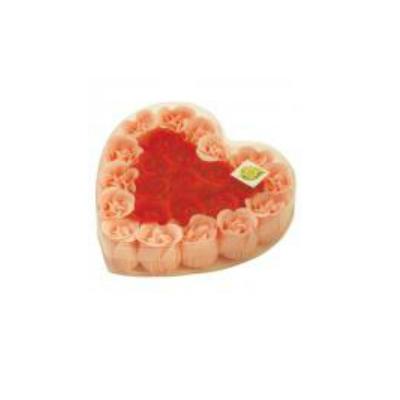 фото Цветы мыльные Банные штучки «Розы в Сердце» 24 штуки