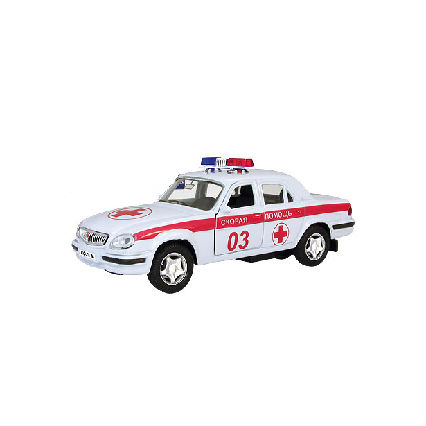 фото Модель автомобиля AUTOTIME ГАЗ-31105 Волга «Скорая помощь»