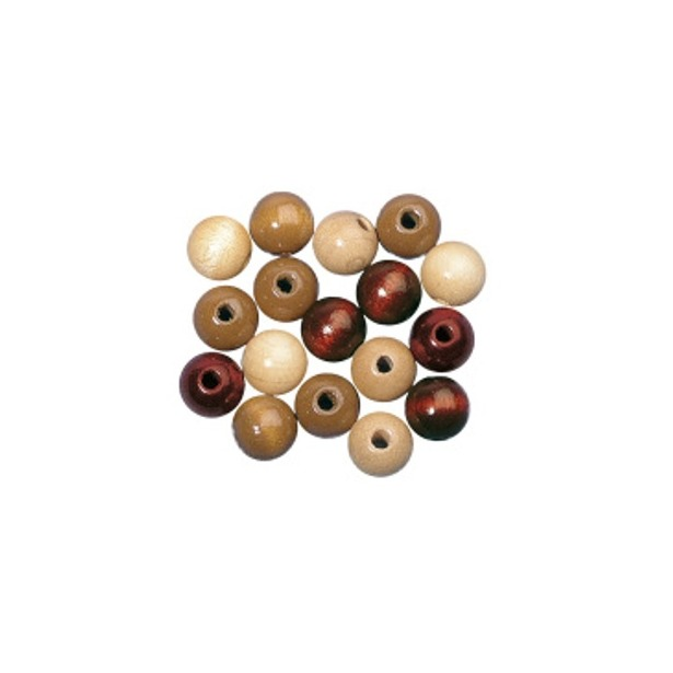 как полируют деревянные бусины