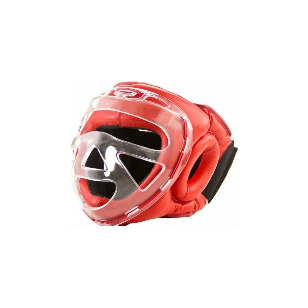 фото Шлем боксерский с защитной маской Larsen PS-832