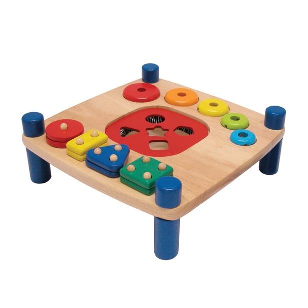 фото Развивающая игрушка I'm toy «3 сортера и шнуровка»