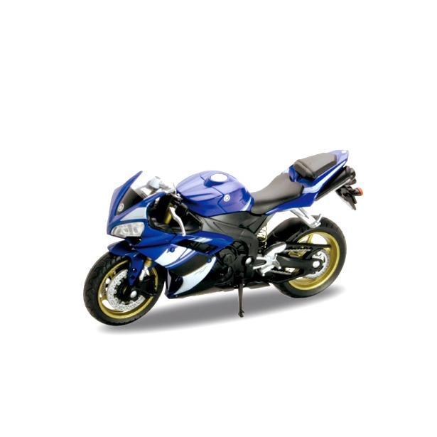 фото Модель мотоцикла 1:18 Welly Yamaha YZF-R1. В ассортименте