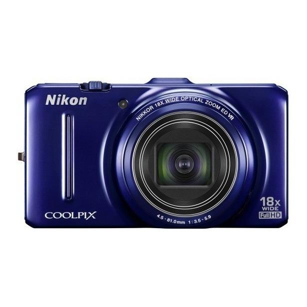 фото Фотокамера цифровая Nikon CoolPix S9300. Цвет: синий