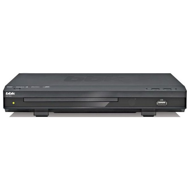 фото DVD-плеер BBK DVP155SI. Цвет: темно-серый
