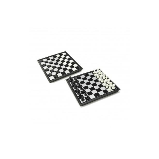 фото Шахматы и шашки магнитные с доской U3 4912-B