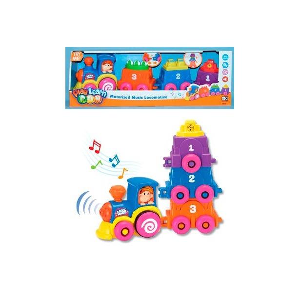 фото Музыкальная игрушка Keenway «Музыкальный паровоз»