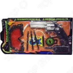 Пистолет игрушечный с аксессуарами