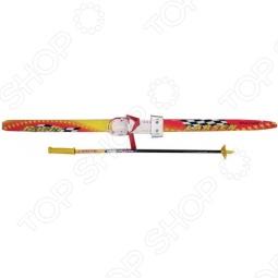 фото Комплект лыжный детский Larsen. Ростовка (длина лыжи): 110 см, купить, цена
