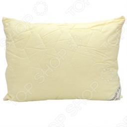 фото Подушка стеганная на козьем пуху Домашний уют. Размер: 50х68 см, Классические подушки