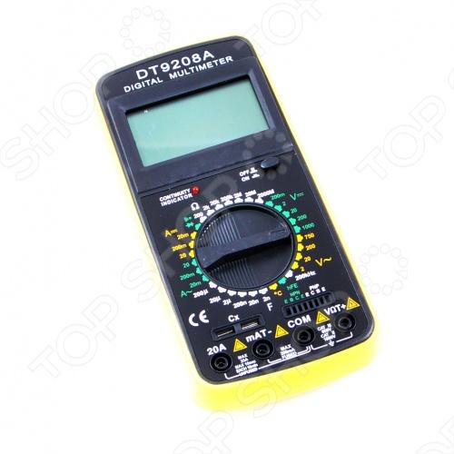 Мультиметр Dt-9208а Инструкция - фото 8