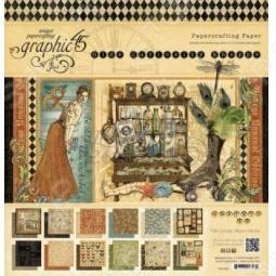 фото Набор бумаги Graphic45 Old Curiosity Shoppe, купить, цена