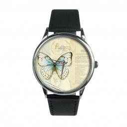 "Часы ""Бабочка"", классический ремешок"