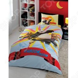 фото Комплект постельного белья TAC Kung Fu Panda Power, Детские комплекты постельного белья