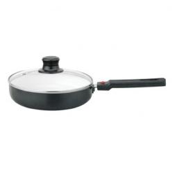 Сковорода с крышкой и керамическим покрытием Delta ВС-0022К