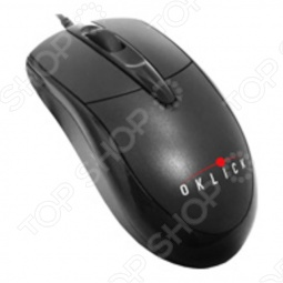 фото Мышь Oklick 125 M Optical Mouse Black Usb, Компьютерные мыши