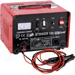 Зарядное устройство, напряжение 220 В, напряжение заряжаемого аккумулятора 12 / 24 В, мощность 260 В, ток зарядки 9 А...