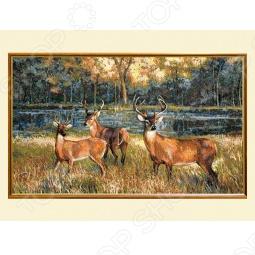 фото Картина вердюра с оленями, Картины. Панно