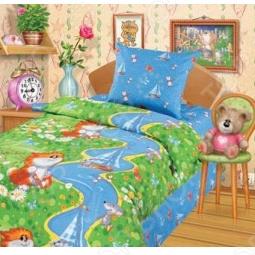 фото Комплект постельного белья Непоседа Рыбак, Детские комплекты постельного белья