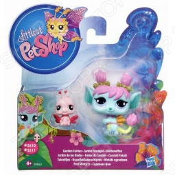 Набор игровой для девочек Littlest Pet Shop Фея с другом. В ассортименте