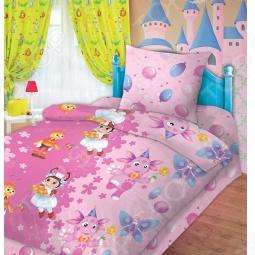 фото Комплект постельного белья Непоседа День Рождения Милы, Детские комплекты постельного белья