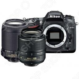 фото Фотокамера цифровая Nikon D7100 Kit 18-300 Vr, Зеркальные фотоаппараты