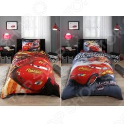 фото Комплект постельного белья TAC Cars Drift, Детские комплекты постельного белья