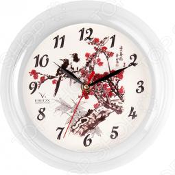 фото Часы Вега П 6-7-7 «Сакура», Часы настенные