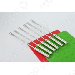 фото Набор вилок с 2-мя зубцами для фондю Stahlberg 5740-S, Электрофондю