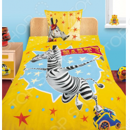 фото Комплект постельного белья Непоседа Марти 3D, Детские комплекты постельного белья