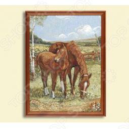 фото Картина «Лошади», Картины. Панно
