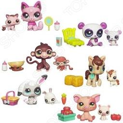 Набор игровой для девочек Littlest Pet Shop Мама и малышка. В ассортименте