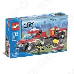 фото Конструктор Lego Пожарный Внедорожник 25299, Серия City