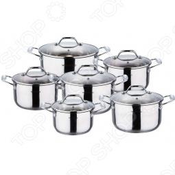 фото Набор кастрюль Wellberg Wb-1033, Наборы посуды для готовки