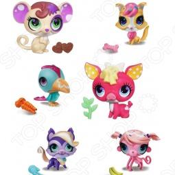 Набор игровой для девочек Littlest Pet Shop Зверюшки. Любители сладостей. В ассортименте