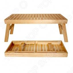 фото Лавочка Банные Штучки Складная, Лавочки, скамейки, шезлонги для бани