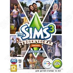 фото Игра для pc Ea Games Sims 3: Студенческая Жизнь (Rus), Игры для PC