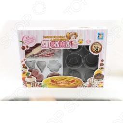 фото Набор посуды для выпечки 1 Toy Т54754, Игровые наборы для девочек