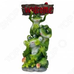 фото Фигурка садовая Valenсia «Лягушки», Другие элементы ландшафта и декора