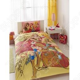 фото Комплект постельного белья TAC Winx Group Nature Love, Детские комплекты постельного белья