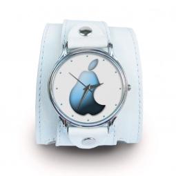 """Часы """"Груша"""", дизайнерский ремешок"""