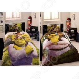 фото Комплект постельного белья TAC Shrek Three In One, Детские комплекты постельного белья