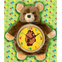 фото Часы настенные Тип Топ Медвежонок Топотун, Часы настенные
